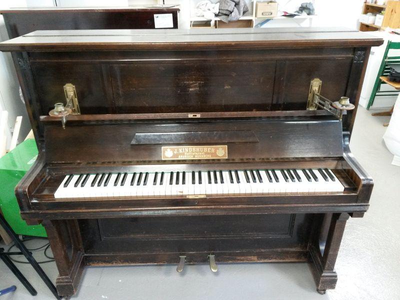 Kindshuber-Klavier vor der Überholung